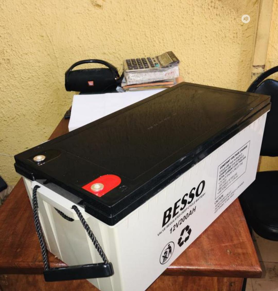 Archive: Besso 200ah 12v Battery