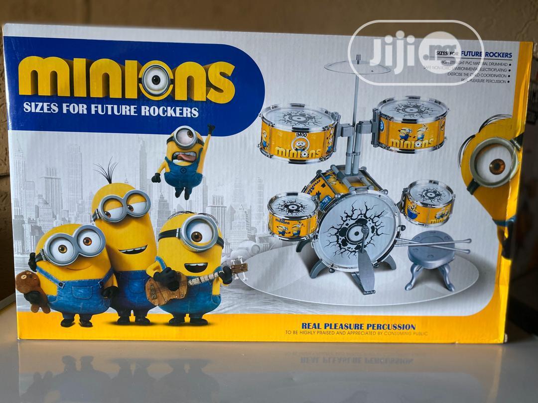 Minons Character Drum Set