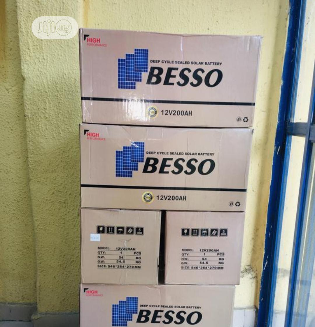 Besso 200ah 12v Battery