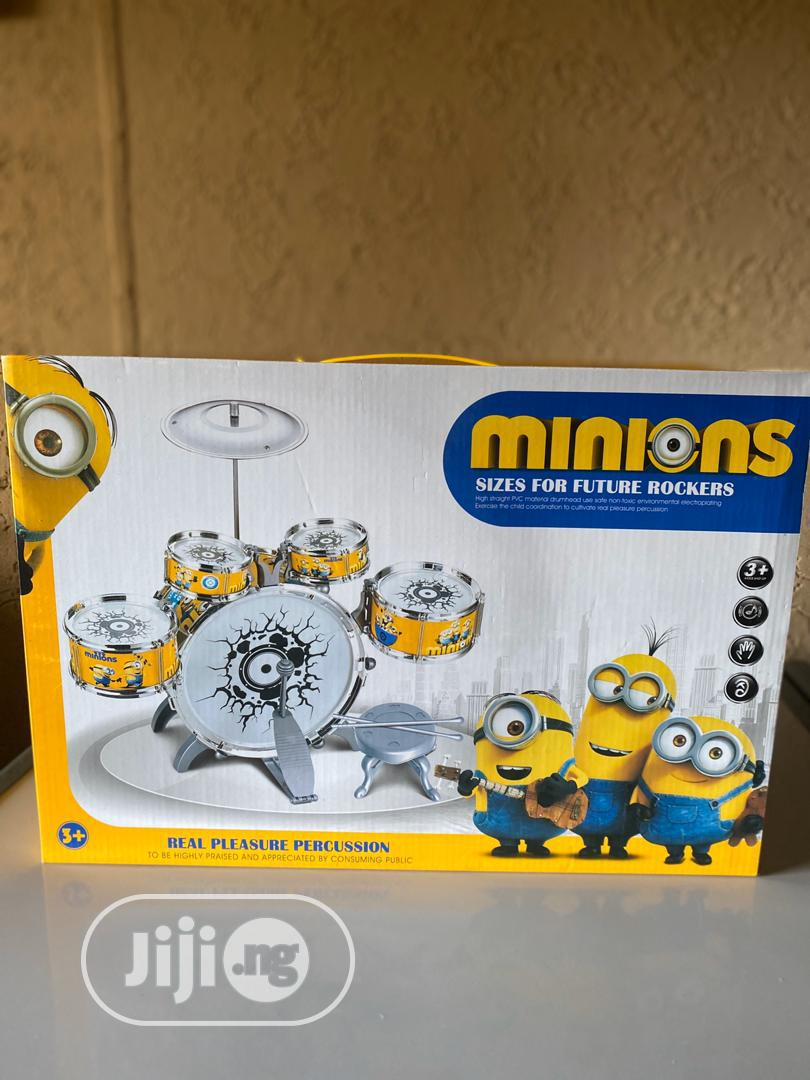 Minons Character Drum Set | Toys for sale in Lagos Island, Lagos State, Nigeria