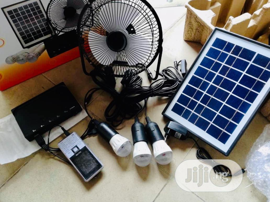 Solar Generator Kit With Fan