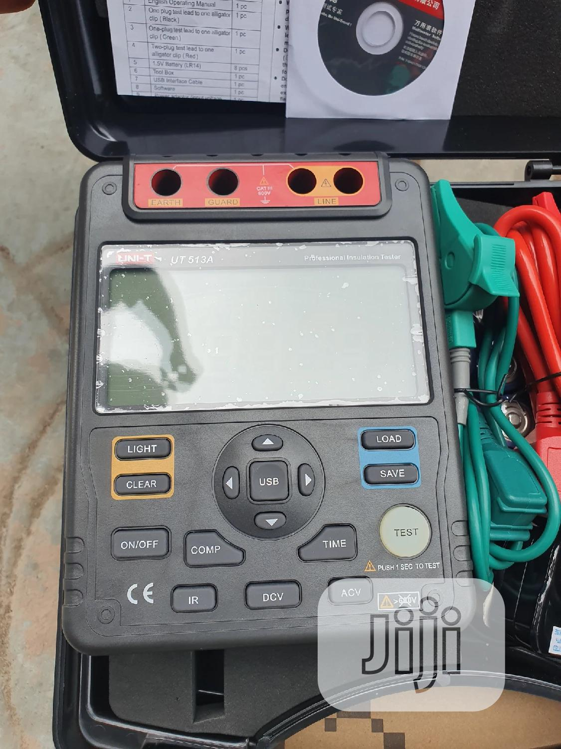 Ut513a 5kv Insulation Tester | Measuring & Layout Tools for sale in Amuwo-Odofin, Lagos State, Nigeria