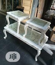 Unique Center Table With Two Side Stools   Furniture for sale in Lagos State, Surulere