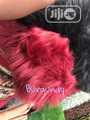 Pure Burnt Burgundy Color Fur Rugs | Home Accessories for sale in Lagos State, Lekki Phase 1