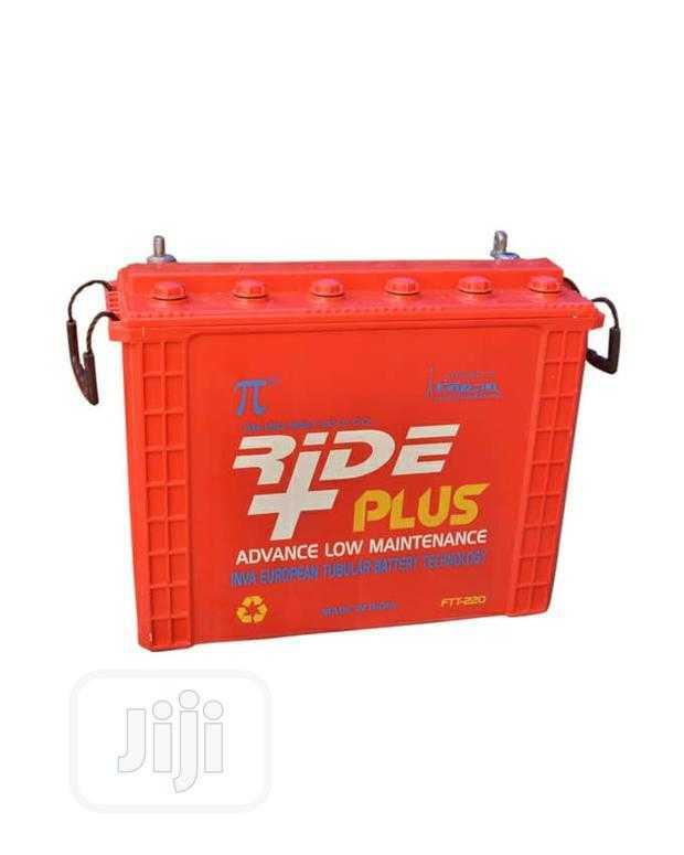 12V 220AH Rideplus Tubular Solar Battery