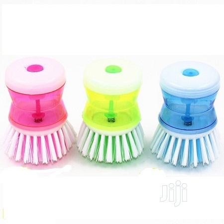 Dish Brush And Soap Dispenser