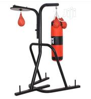Punching Bag Stand + Speed Ball | Sports Equipment for sale in Lagos State, Surulere