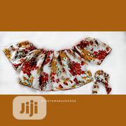 Off-shoulder Floral Top | Clothing for sale in Rivers State, Port-Harcourt