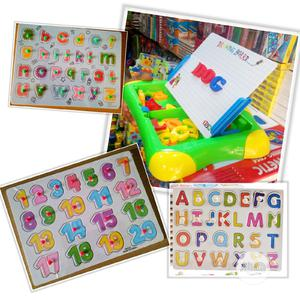 Alphabet Puzzle, Number + Magnetic Writting Board | Toys for sale in Lagos State, Gbagada