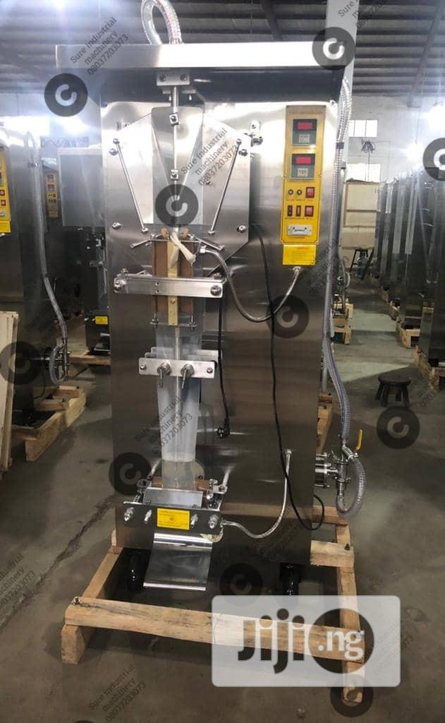 Pure Water Packaging Machine For Pure Water Production Complete Setup