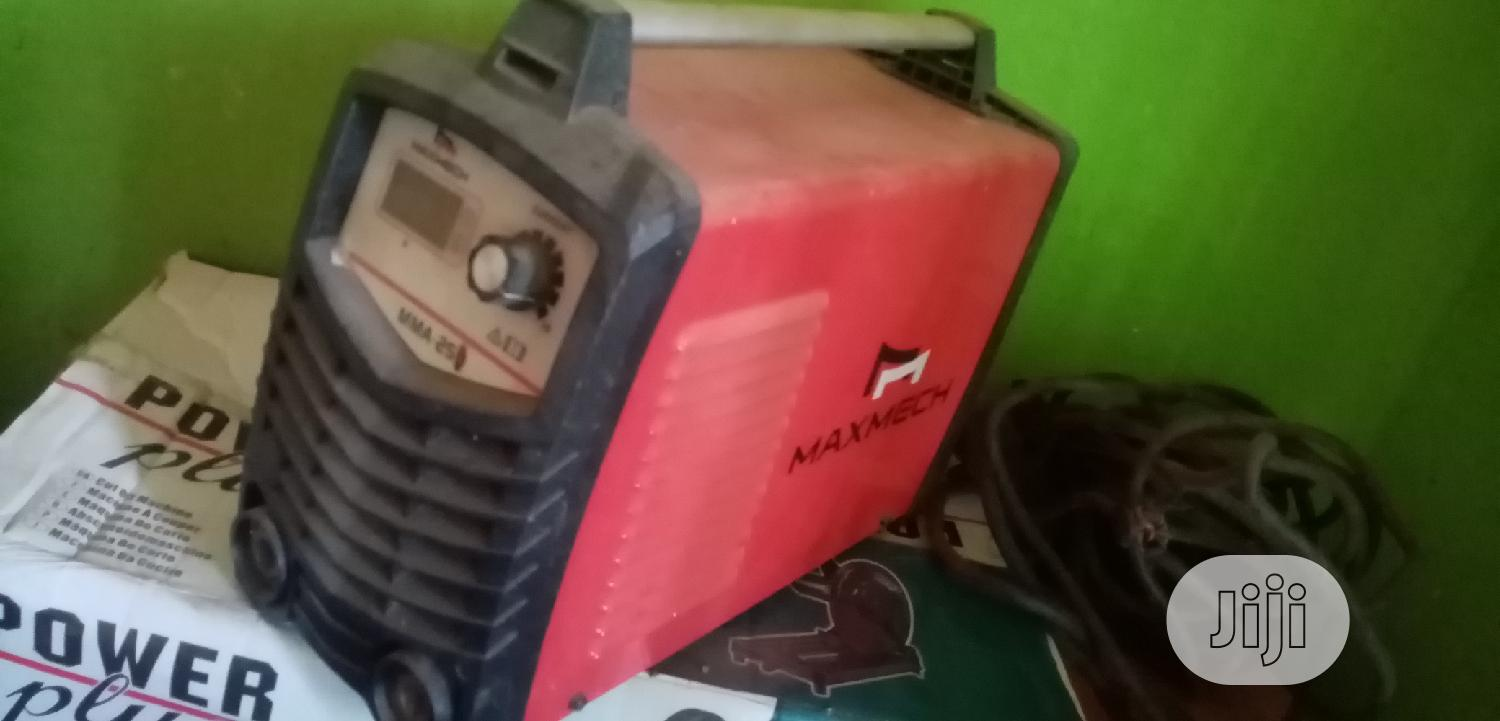 Maxmech Welding Machine | Electrical Equipment for sale in Isolo, Lagos State, Nigeria