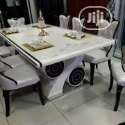 Quality Marble Dining Table With 8 Chairs | Furniture for sale in Lagos State, Lekki Phase 2