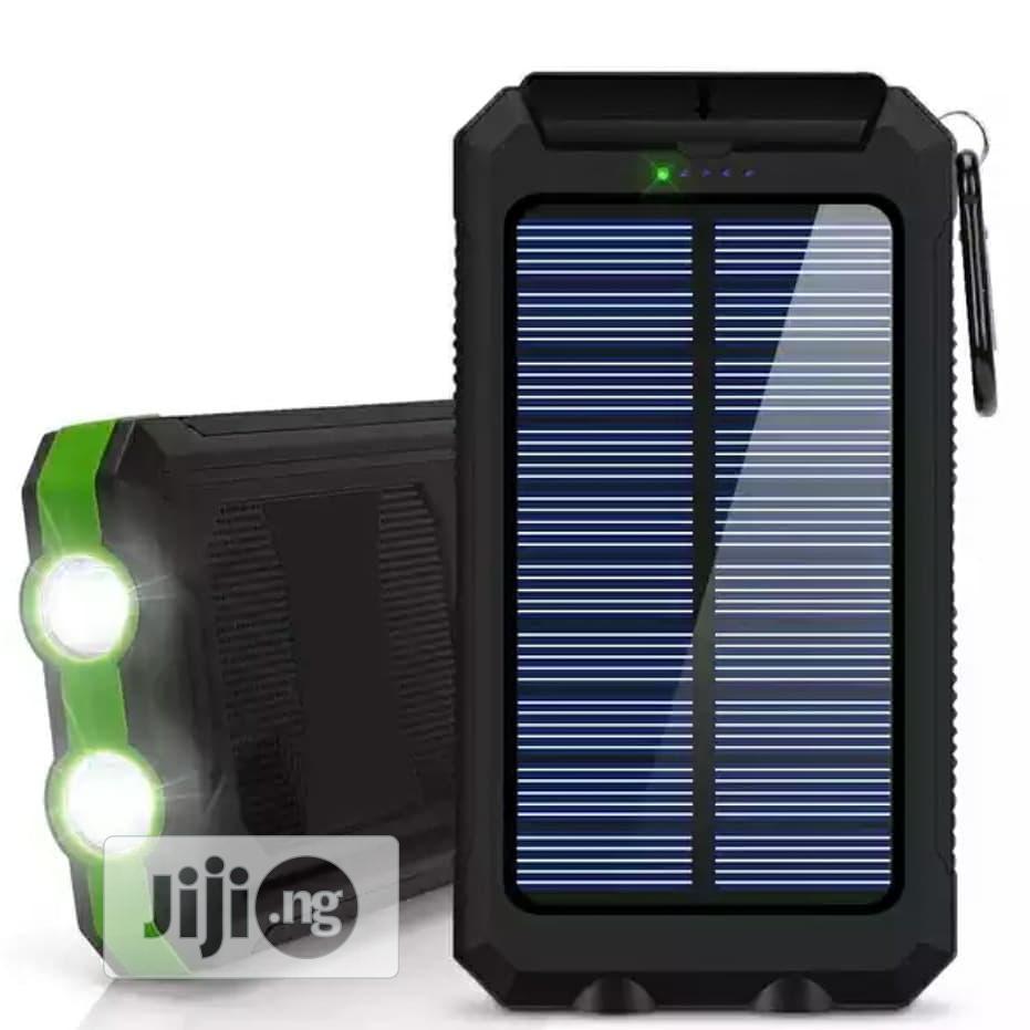 20000mah Solar Power Bank | Solar Energy for sale in Ikeja, Lagos State, Nigeria