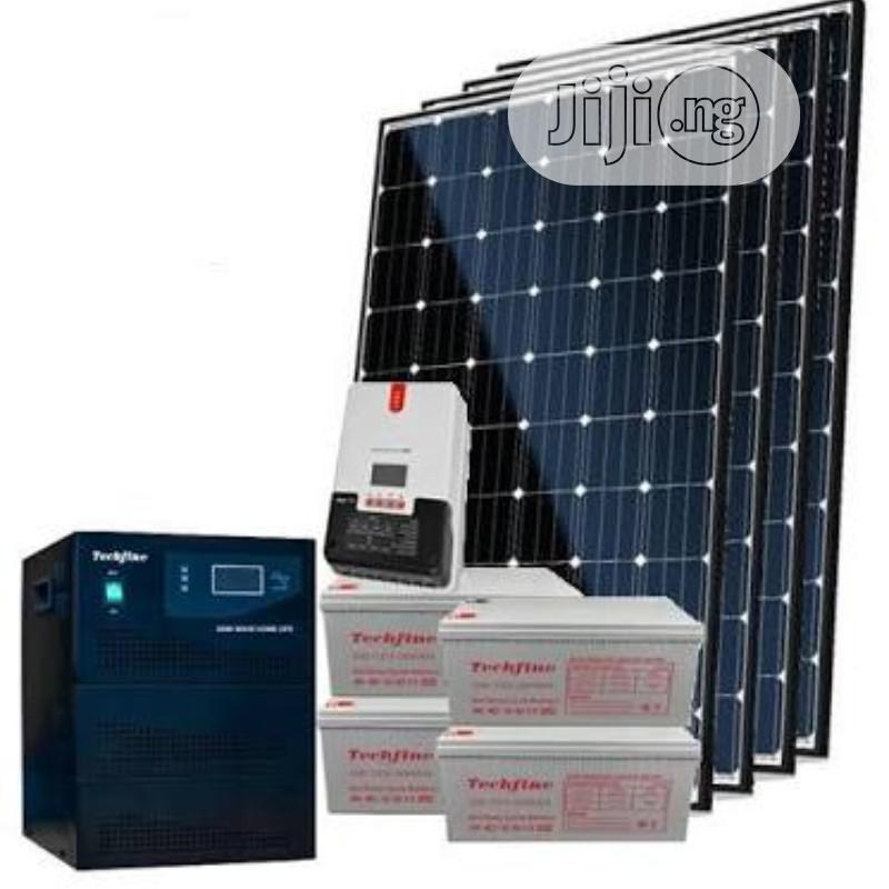 Solar System Installation _ 1.5KVA