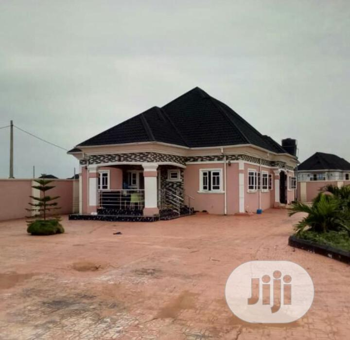 Standard 4-bedroom Bungalow Situate At Okabere Off Sapele Road