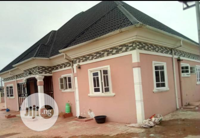 Standard 4-bedroom Bungalow Situate At Okabere Off Sapele Road | Houses & Apartments For Sale for sale in Benin City, Edo State, Nigeria