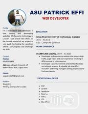 Computing & IT CV | Computing & IT CVs for sale in Lagos State, Ajah