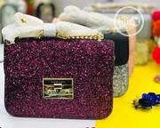 Charles & Keith Push Lock Glitter Bag | Bags for sale in Abuja (FCT) State, Kubwa