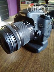 Canon EOS 760D With Lens | Photo & Video Cameras for sale in Lagos State, Alimosho