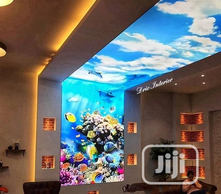 Lighted Stretched Ceiling & Wall Covering
