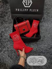 Phillip Plein Red Boot and Handbag | Bags for sale in Lagos State, Ikeja