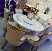 A Set Of Round Marble Dining Table | Furniture for sale in Lagos State, Surulere