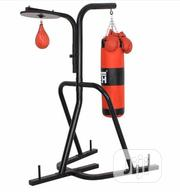 Punching Bag Stand With Pressure Ball | Sports Equipment for sale in Lagos State, Victoria Island