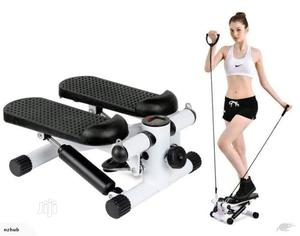 Standard Mini Stepper With Training Ropes   Sports Equipment for sale in Rivers State, Port-Harcourt