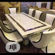Royal Marble Dinning With Six Chair | Furniture for sale in Lagos State, Maryland