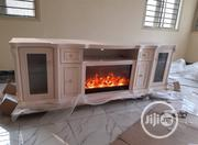 TV Stand With Fire Place | Furniture for sale in Lagos State, Ojo