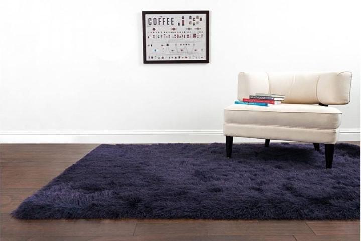 Classic Indian Shaggy Center Rug