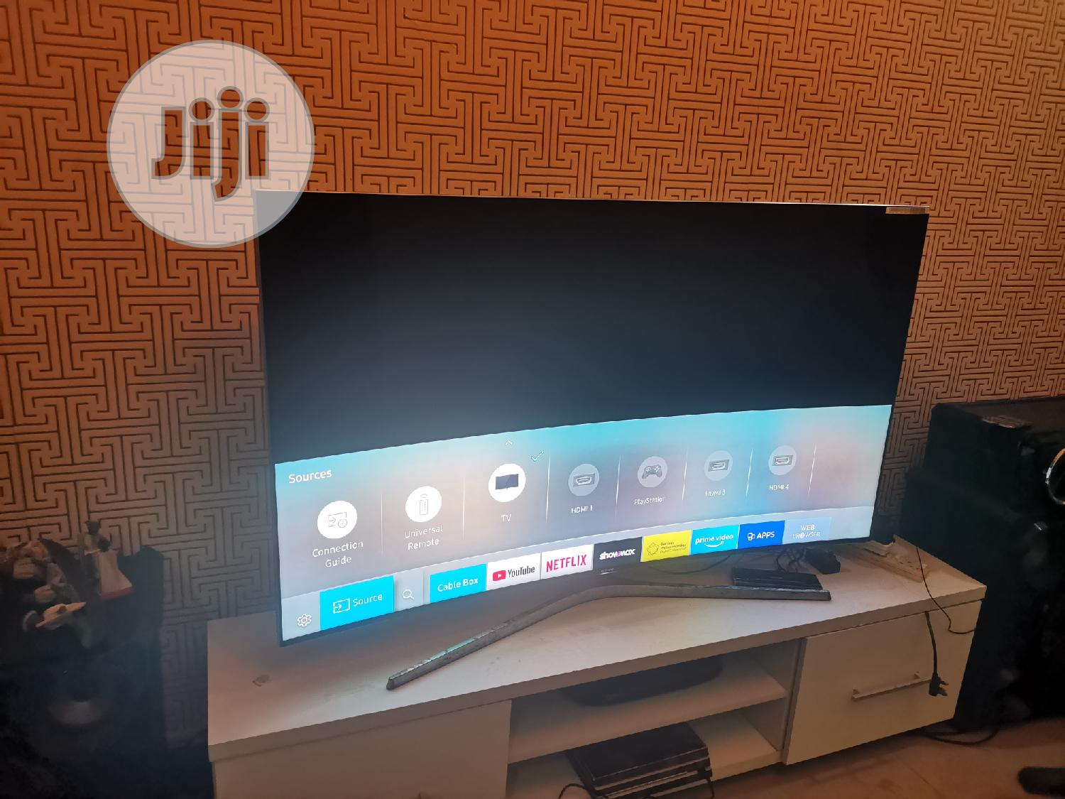 "Archive: UK Used 65"" SUHD Samsung Curve Smart TV"
