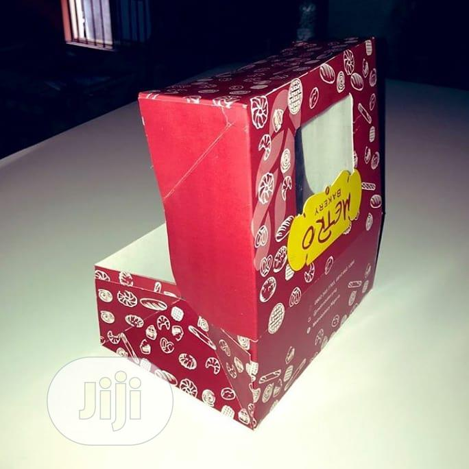 Cupcakes/Cake Boxes | Manufacturing Services for sale in Isolo, Lagos State, Nigeria
