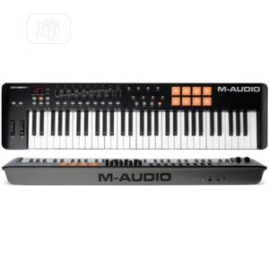 M-audio Oxygen 61 IV   61-key USB/MIDI Keyboard With 8 Trigger Pads   Musical Instruments & Gear for sale in Lagos State, Ojo