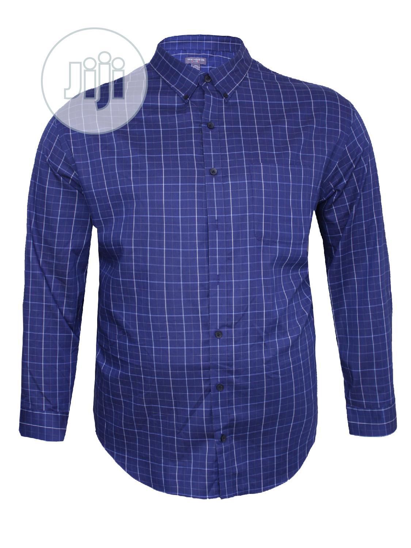 Plus Size Men Shirt(Van Heusen)