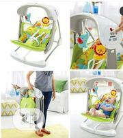 Fisher Price Space Saver Swing With Musical Bar | Baby & Child Care for sale in Lagos State, Alimosho