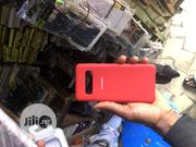 Samsung S10 Silicon Case + Free Screen Guard   Accessories for Mobile Phones & Tablets for sale in Lagos State, Surulere