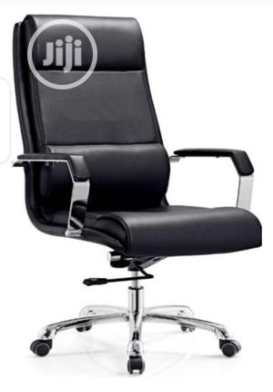 Black Leather Executive Chair   Furniture for sale in Lagos State, Victoria Island
