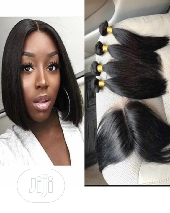 Archive: Straight Hair 12inches With Closure