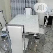 Classic Four Seaters Marble Dining Table | Furniture for sale in Lagos State, Ajah