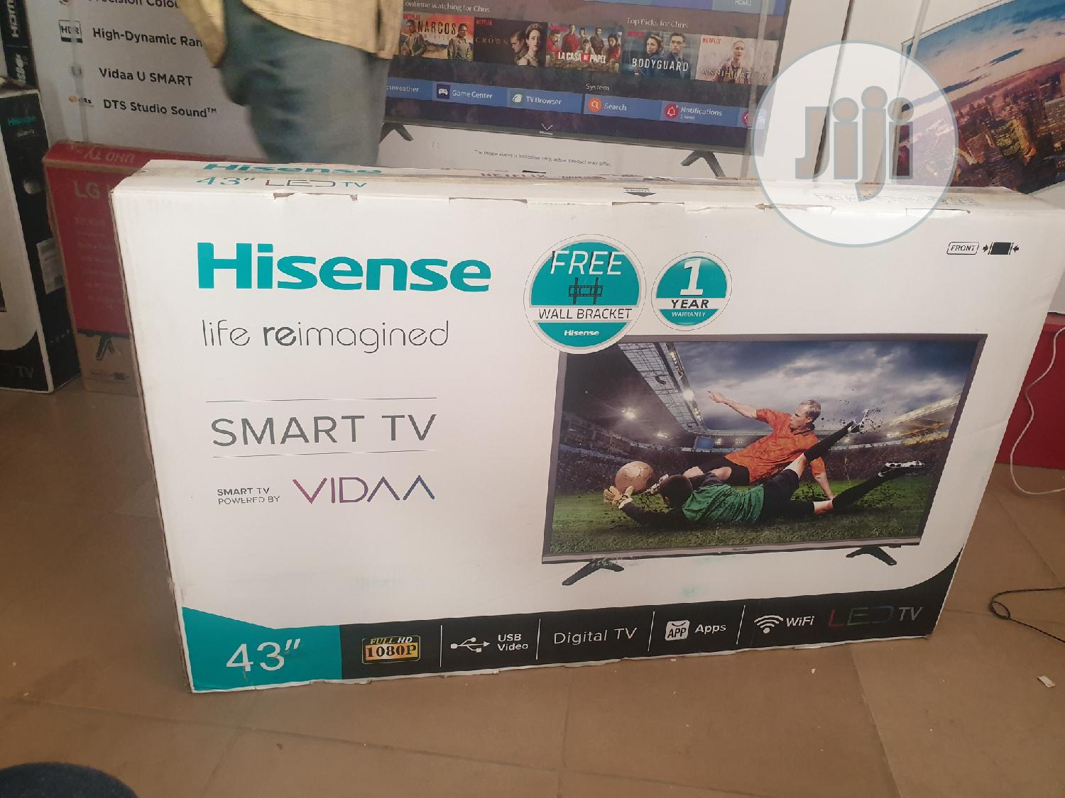 Hisense 43 LED Full HD Smart