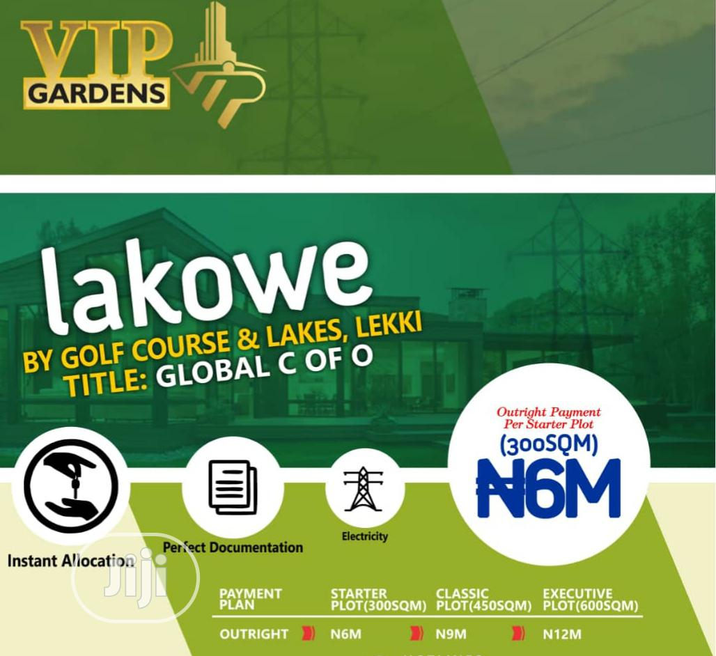 Archive: Land For Sale In Lakowe Golf Course Estate, Ajah
