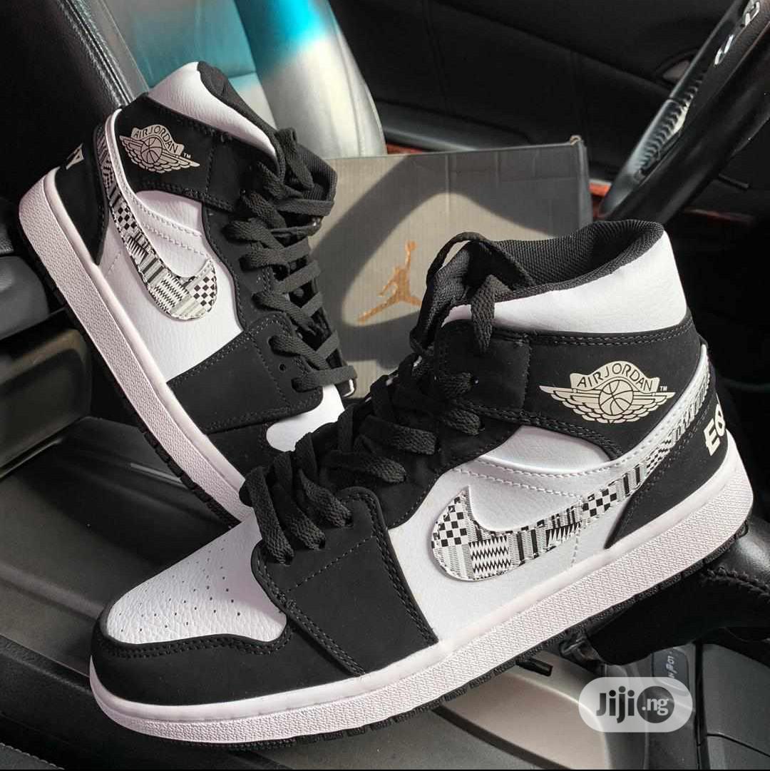 Nike Air Jordan Men's Hightop Sneakers | Shoes for sale in Surulere, Lagos State, Nigeria