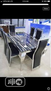 Quality Marble Top 6seaters Dining Table   Furniture for sale in Lagos State, Ojo