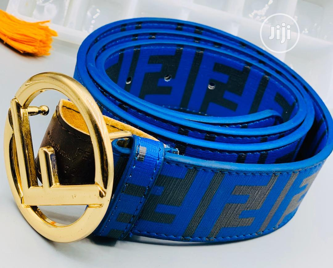 Fendi Leather Belt for Men's