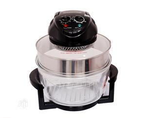 Hometech Halogen Oven in Lagos S - Black With 10 Accessories | Kitchen Appliances for sale in Lagos State, Ikeja