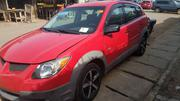 Pontiac Vibe 2003 Automatic Red | Cars for sale in Lagos State, Isolo