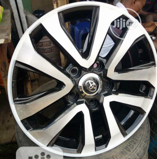 20inch Toyota Tundra Alloy Wheels/ Rim | Vehicle Parts & Accessories for sale in Mushin, Lagos State, Nigeria