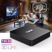 T95 S2 Android 7.1 4K TV Box Amlogic S905W Quad Core 1G/8G | TV & DVD Equipment for sale in Lagos State, Ikeja