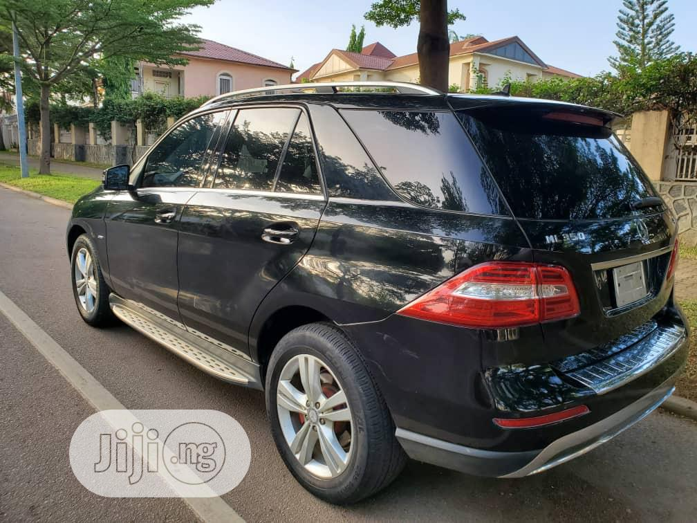 Mercedes-Benz M Class 2012 Black | Cars for sale in Wuse 2, Abuja (FCT) State, Nigeria